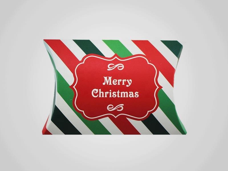 Custom Christmas Pillow Boxes