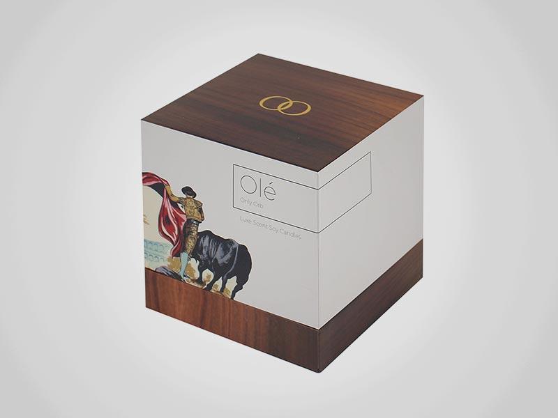 Custom Cube Gift Boxes