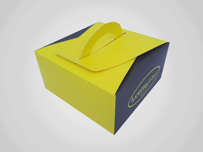 Die Cut Takeout Boxes