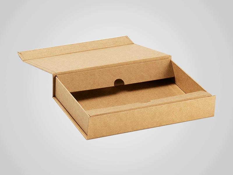 Kraft Lid Boxes