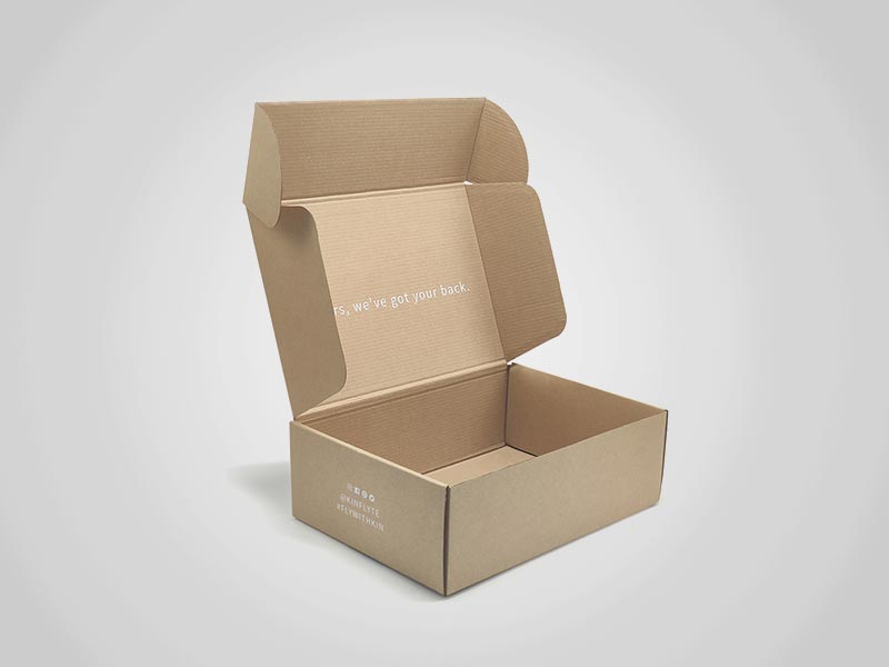 Custom Kraft Mailer Boxes