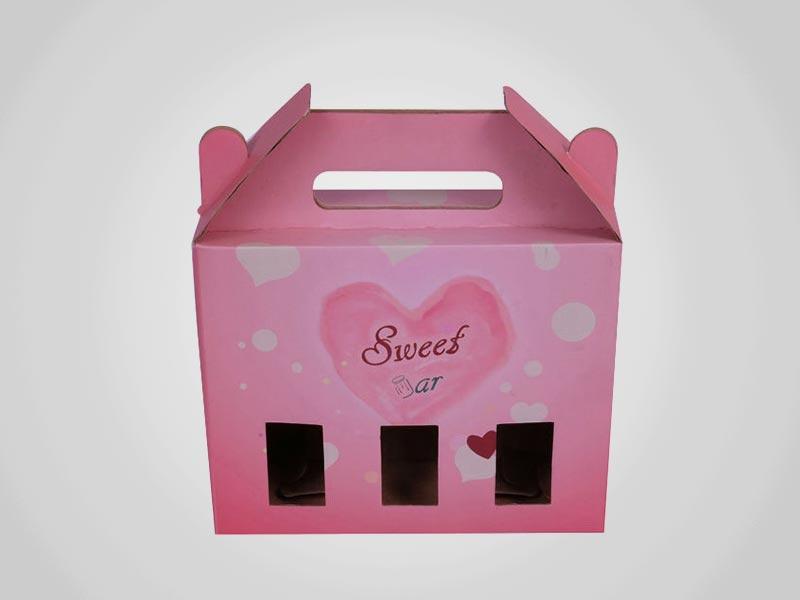 Custom Die Cut Gable Boxes