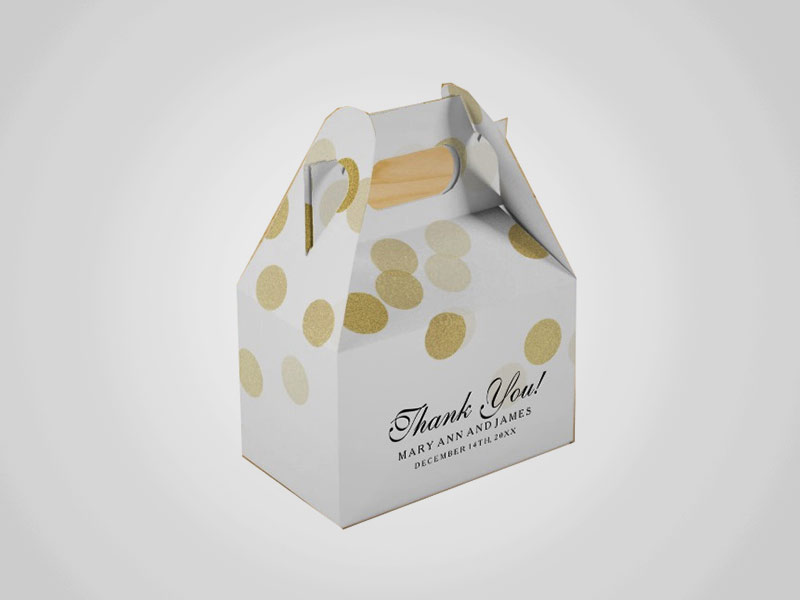 Custom Gable Gift Boxes