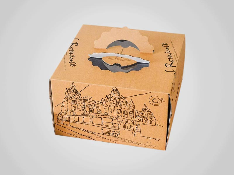 Custom Takeout Bakery Boxes