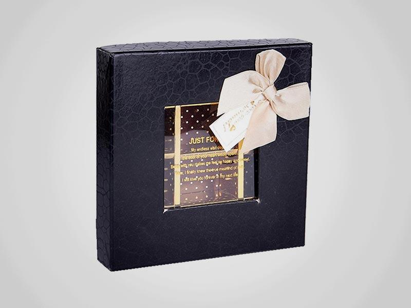 Custom Window Favor Boxes