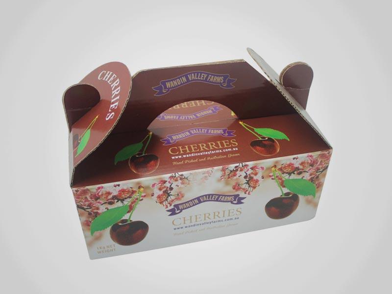 Custom Gable Food Boxes