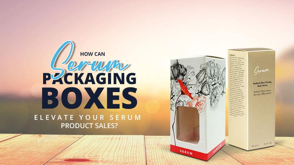 Serum Packaging Boxes | Custom Printed Serum Wholesale Packaging for your business | Pristine Packaging